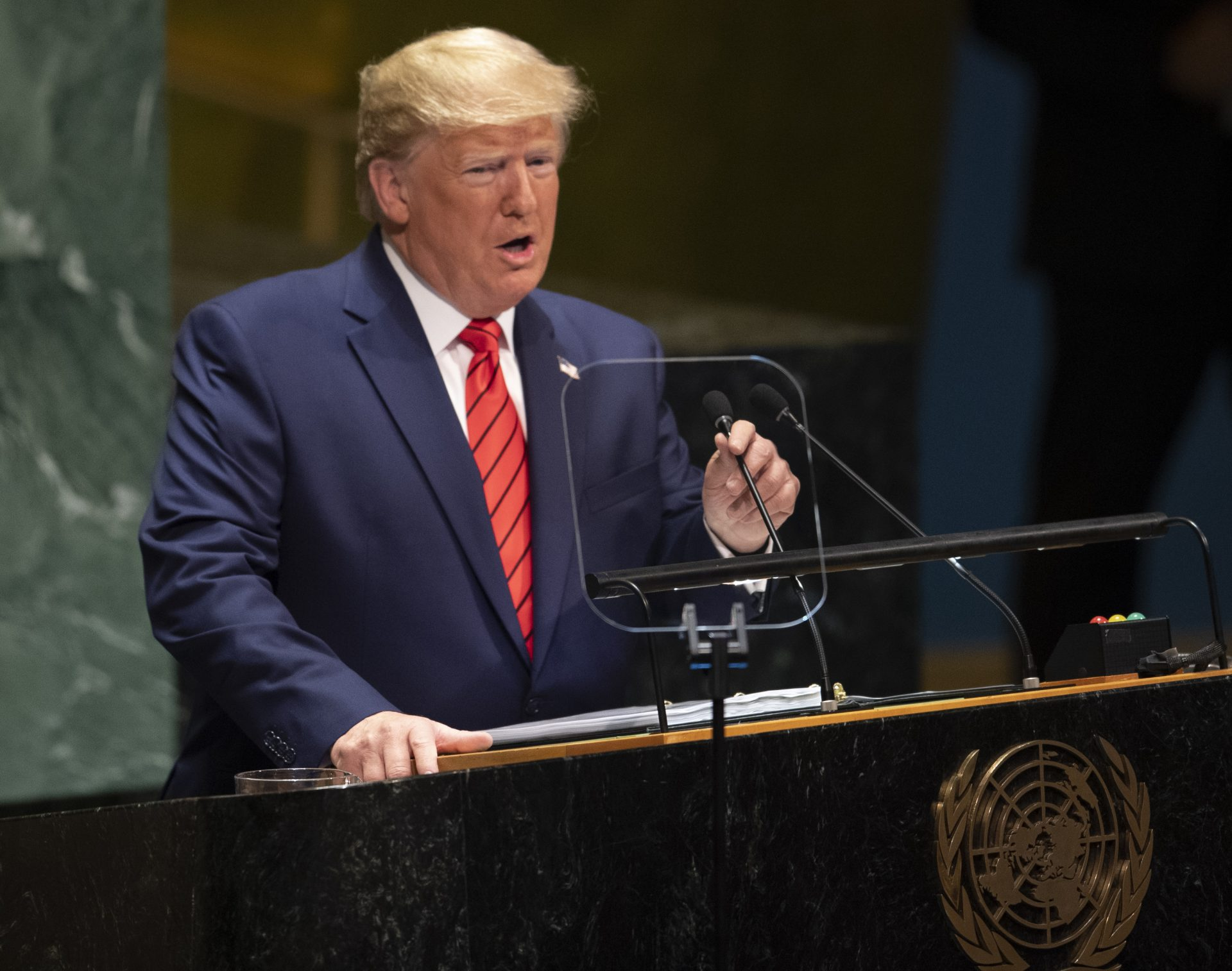 Trump's speech at UN General Assembly
